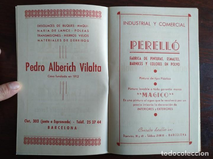 Coleccionismo: Festa Major Aplec de Sant Pau 1959 Ateneu Torrellenc Torrelles de Llobregat Amb l lira de San Celoni - Foto 4 - 194897513