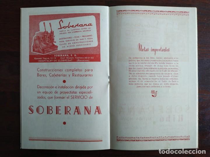 Coleccionismo: Festa Major Aplec de Sant Pau 1959 Ateneu Torrellenc Torrelles de Llobregat Amb l lira de San Celoni - Foto 9 - 194897513