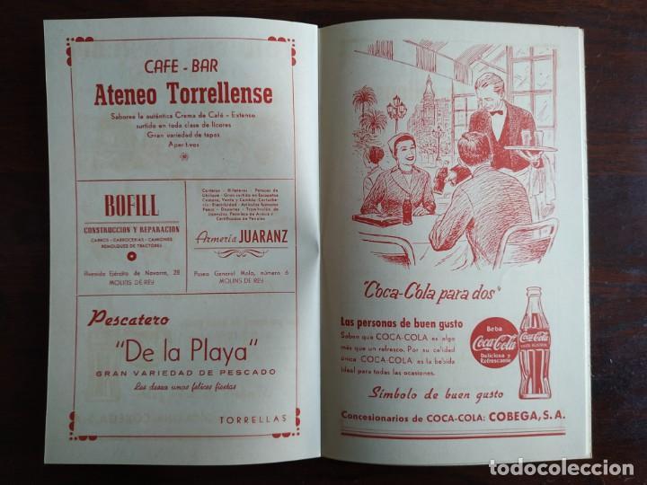 Coleccionismo: Festa Major Aplec de Sant Pau 1959 Ateneu Torrellenc Torrelles de Llobregat Amb l lira de San Celoni - Foto 10 - 194897513