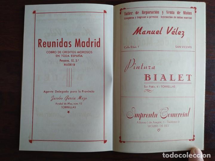 Coleccionismo: Festa Major Aplec de Sant Pau 1959 Ateneu Torrellenc Torrelles de Llobregat Amb l lira de San Celoni - Foto 12 - 194897513