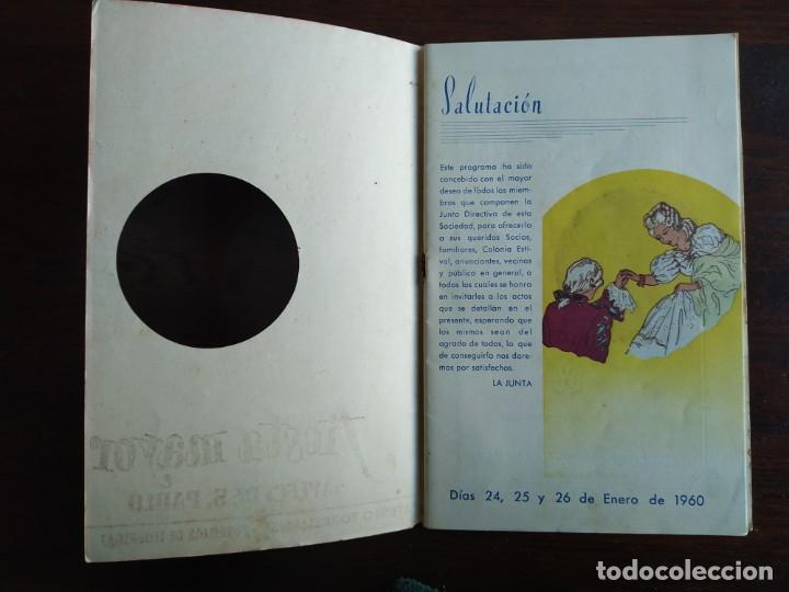 Coleccionismo: Festa Major Aplec de Sant Pau 1960 Ateneu Torrellenc de Torrelles de Llobregat orquestra Martogrell - Foto 2 - 194898328