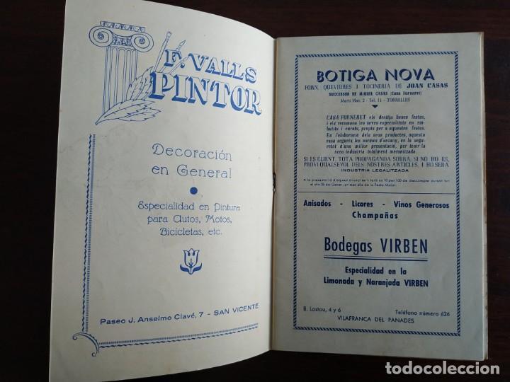 Coleccionismo: Festa Major Aplec de Sant Pau 1960 Ateneu Torrellenc de Torrelles de Llobregat orquestra Martogrell - Foto 4 - 194898328