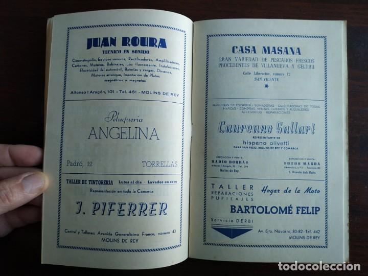 Coleccionismo: Festa Major Aplec de Sant Pau 1960 Ateneu Torrellenc de Torrelles de Llobregat orquestra Martogrell - Foto 5 - 194898328