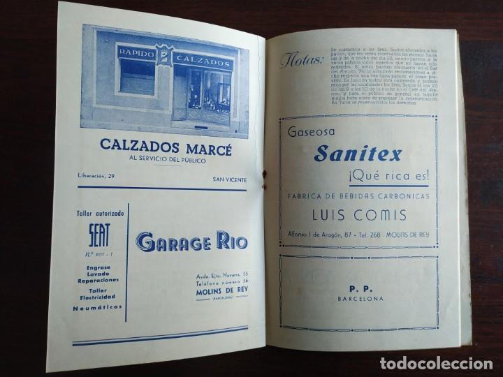 Coleccionismo: Festa Major Aplec de Sant Pau 1960 Ateneu Torrellenc de Torrelles de Llobregat orquestra Martogrell - Foto 8 - 194898328