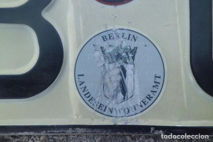Coleccionismo: MATRICULA ALEMANA, BERLIN - Foto 2 - 194898456
