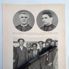 Coleccionismo: BILBAO. SACERDOTES AGREDIDOS A TRAICIÓN / BARCELONA. ASALTO AL CINE AVENIDA. 1931. Lote 194926240
