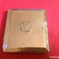 Coleccionismo: ANTIGUA PITILLERA CON PUBLICIDAD. FONTANERÍA GERONIMO PADILLA CÓRDOBA. EL FÉNIX SIDERÚRGICO. CORDOBA. Lote 194958112