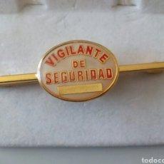 Coleccionismo: PASACORBATA VIGILANTE DE SEGURIDAD. Lote 194965245