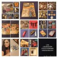 Coleccionismo: LOTE LIQUIDACIÓN COLECCIONISMO VARIOS. LEER DESCRIPCIÓN,VER FOTOS. Lote 194978592