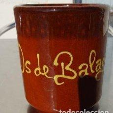 Coleccionismo: TAZA Y CONTENEDOR DE LAPICES OS DE BALAGUER. Lote 195000490