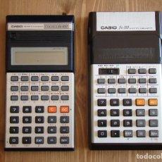 Coleccionismo: LOTE CASIO FX-110 + FX-100 COLLEGE SCIENTIFIC CALCULATOR CALCULADORA. Lote 195026431