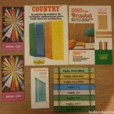 Coleccionismo: LOTE MUESTRARIO Y PUBLICIDAD SEGILUX. Lote 195054347