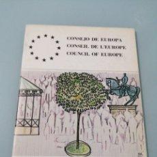 Coleccionismo: CAMPAÑA EUROPEA PARA EL RENACIMIENTO DE LA CIUDAD. CONSEJO DE EUROPA. 1981.RAYCAR.. Lote 195073428