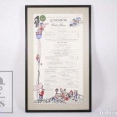 Coleccionismo: MINUTA / MENÚ DE RESTAURANTE LUNCHEON PIRATE'S HOUSE - SAVANNAH, GEORGIA, USA - AÑOS 80. Lote 195086643
