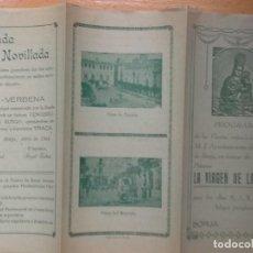 Coleccionismo: PROGRAMA OFICIAL. BORJA, ZARAGOZA. FIESTAS NTRA. SRA. DE LA PEÑA. MAYO 1944.. Lote 195096471