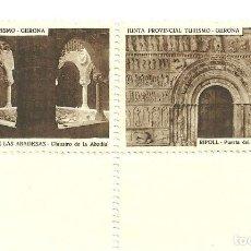 Coleccionismo: C1.- SAN JUAN DE LAS ABADESAS - RIPOLL - JUNTA PROVINCIAL DE TURISMO GERONA. Lote 195109457