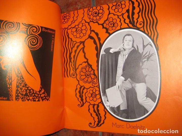 Coleccionismo: precioso catalogo pr une nuit a lalcazar de paris antiguo cabaret . años 50? estilo pop fonteneau - Foto 5 - 195140790