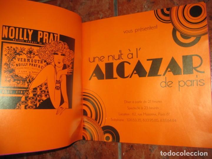 Coleccionismo: precioso catalogo pr une nuit a lalcazar de paris antiguo cabaret . años 50? estilo pop fonteneau - Foto 7 - 195140790
