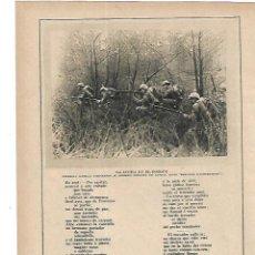 Coleccionismo: AÑO 1915 RECORTE PRENSA TROVA PROVENZAL LANGUE D'OC POR MELITON GONZALEZ PAU PARELLADA. Lote 195152936