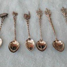 Coleccionismo: LOTE DE 10 CUCHARILLAS CIUDADES. Lote 195154801