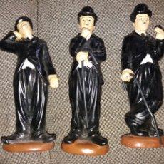 Coleccionismo: LOTE DE 3 FIGURAS CHARLES CHAPLIN. Lote 195171938