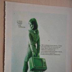 Coleccionismo: HOJA REVISTA ANTIGUA PUBLICIDAD VANGUARD. Lote 195183650