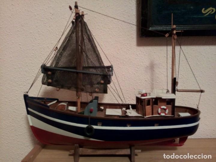 Coleccionismo: MAQUETA BARCO PESQUERO - Foto 4 - 195197282