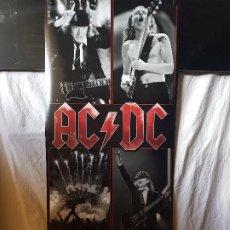 Coleccionismo: POSTER DE AC/DC (ALARGADO) 158CM X 53CM. Lote 195220300