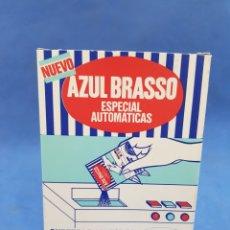 Coleccionismo: AZUL BRASSO , CAJA DE SOBRES , AÑOS 1970. Lote 195225813