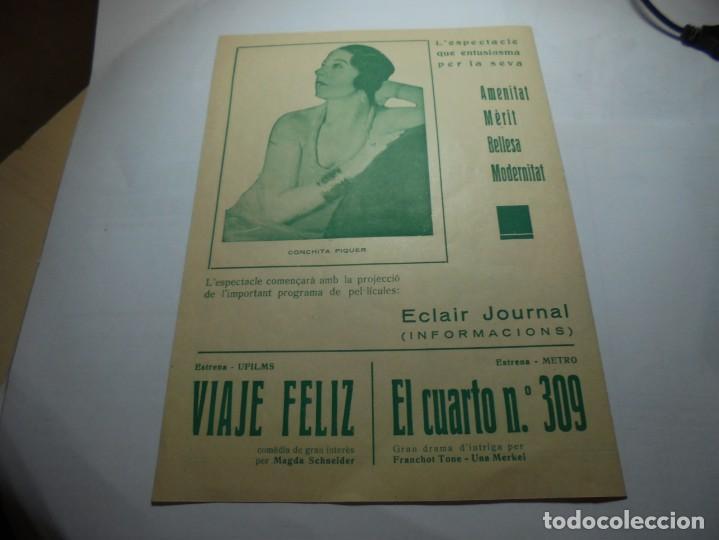 Coleccionismo: magnifico programa teatre conservatori de manresa galas 1936 - Foto 3 - 195238963