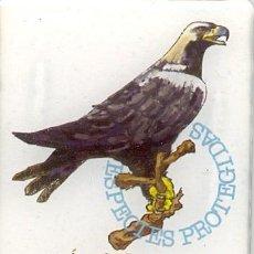 Coleccionismo: IMANES NEVERA FAUNA DE IBERIA LINEAS AEREAS - BUHO, AGUILA Y NUTRIA. Lote 195260102