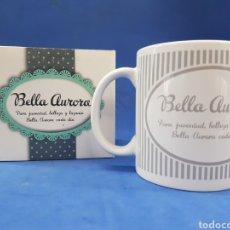 Coleccionismo: BELLA AURORA TAZA PUBLICITARIA , AÑOS 1990. Lote 195330298
