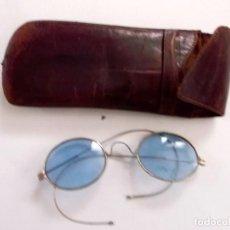 Coleccionismo: LOTE DE 3 GAFAS ANTIGUAS 2 CON SUS FUNDAS DE LOS AÑOS 1920-30. Lote 195332688