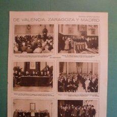 Coleccionismo: BREVES DE VALENCIA - ZARAGOZA Y MADRID - CAGANCHO Y CHICUELO EN MADRID - 30/5/1928. Lote 195334152