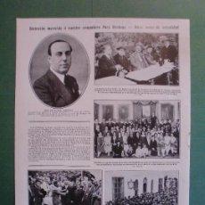 Coleccionismo: LAS BATUECAS CACERES - SEVILLA - SANLÚCAR - PALOMARES SEVILLA - FRANCISCO VERDUGO - 30/6/1926. Lote 195334303