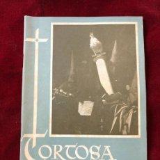 Coleccionismo: PROGRAMA SEMANA SANTA TORTOSA 1952. Lote 195339108