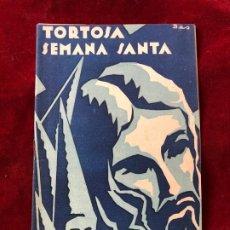 Coleccionismo: PROGRAMA SEMANA SANTA TORTOSA 1942. Lote 195339273
