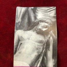 Coleccionismo: PROGRAMA SEMANA SANTA TORTOSA 1958. Lote 195339375