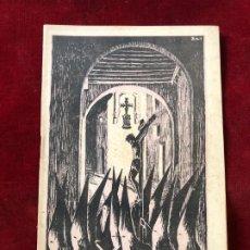 Coleccionismo: PROGRAMA SEMANA SANTA TORTOSA 1941. Lote 195339612