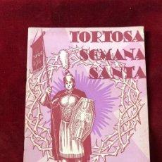 Coleccionismo: PROGRAMA SEMANA SANTA TORTOSA 1951. Lote 195339755