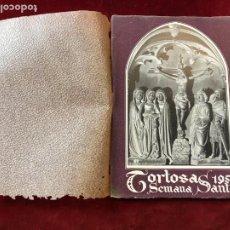 Coleccionismo: PROGRAMA SEMANA SANTA TORTOSA 1953. Lote 195340273