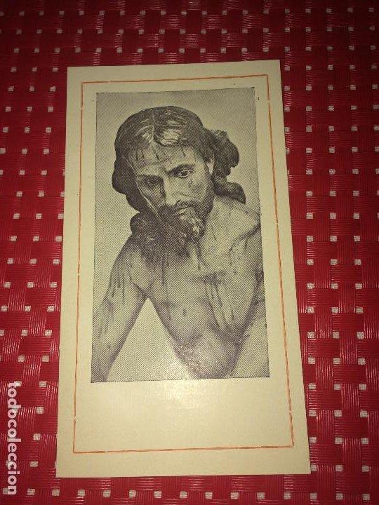 JUMILLA ( MURCIA ) - CRISTO DE LA COLUMNA - II CENTENARIO - JUMILLA, SEPTIEMBRE DE 1956 (Coleccionismo - Laminas, Programas y Otros Documentos)