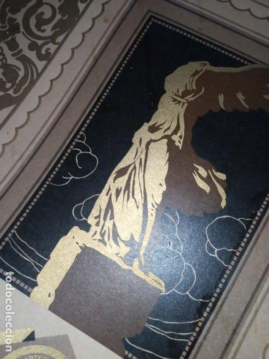 Coleccionismo: GRAN TÍTULO ESCUELA DE ARTE Y OFICIOS ARTÍSTICOS DE VALENCIA 1944 CARTÓN - Foto 9 - 195341091