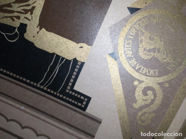 Coleccionismo: GRAN TÍTULO ESCUELA DE ARTE Y OFICIOS ARTÍSTICOS DE VALENCIA 1944 CARTÓN - Foto 14 - 195341091