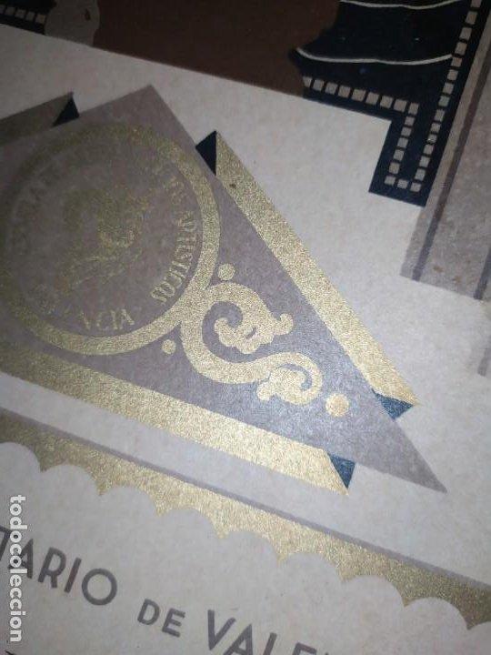 Coleccionismo: GRAN TÍTULO ESCUELA DE ARTE Y OFICIOS ARTÍSTICOS DE VALENCIA 1944 CARTÓN - Foto 20 - 195341091