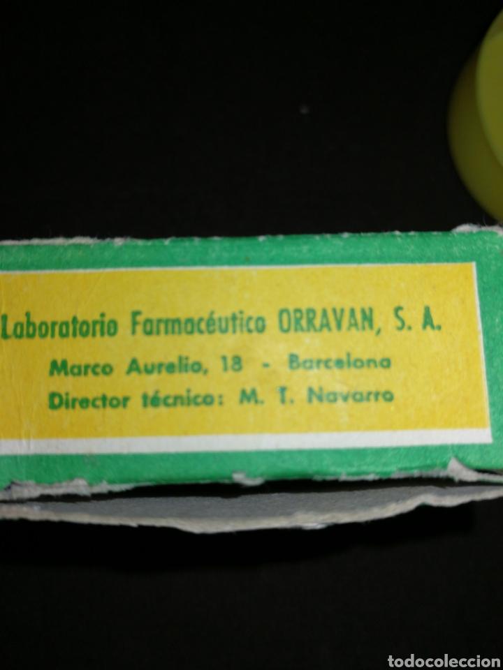 Coleccionismo: ANTIGUO MEDICAMENTO ORRAVAN, CON COMPRIMIDOS, CLORATO POTÁSICO. - Foto 4 - 195341322