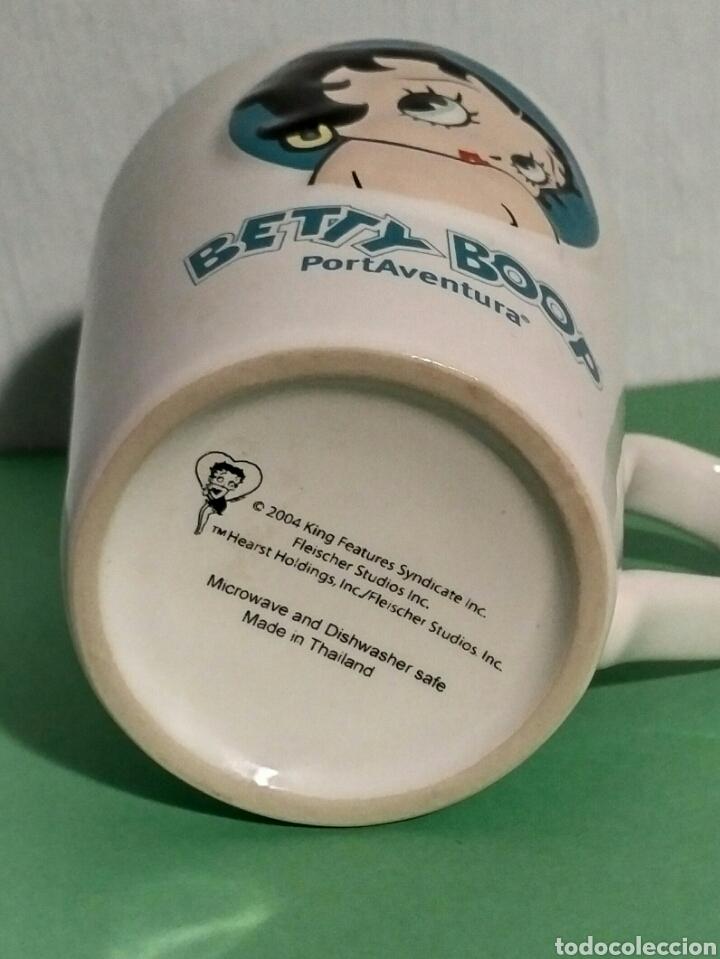 Coleccionismo: Taza cerámica Betty Boop Port Aventura - Foto 3 - 195344461