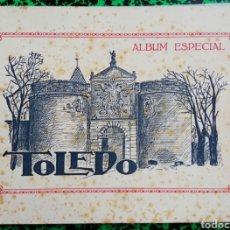 Coleccionismo: TOLEDO - ALBUM ESPECIAL - 18 FOTOGRAFÍAS DE TAMAÑO 20 X 13 COLOR SEPIA ENCUADERNADAS - PJRB. Lote 195356983