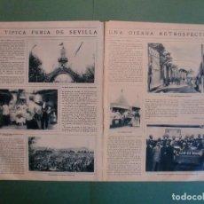 Coleccionismo: RETROSPECTIVA DE LA FERIA DE SEVILLA - BUÑOLERAS PASADERA VENTA DEL ENANO - 18/4/1928. Lote 195369155