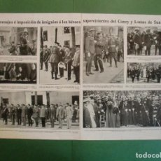Coleccionismo: SUPERVIVIENTES DEL CANEY Y LOMAS DE SAN JUAN EN ZAMORA CARTAGENA VALENCIA PALMA - 9/7/1929. Lote 195370506